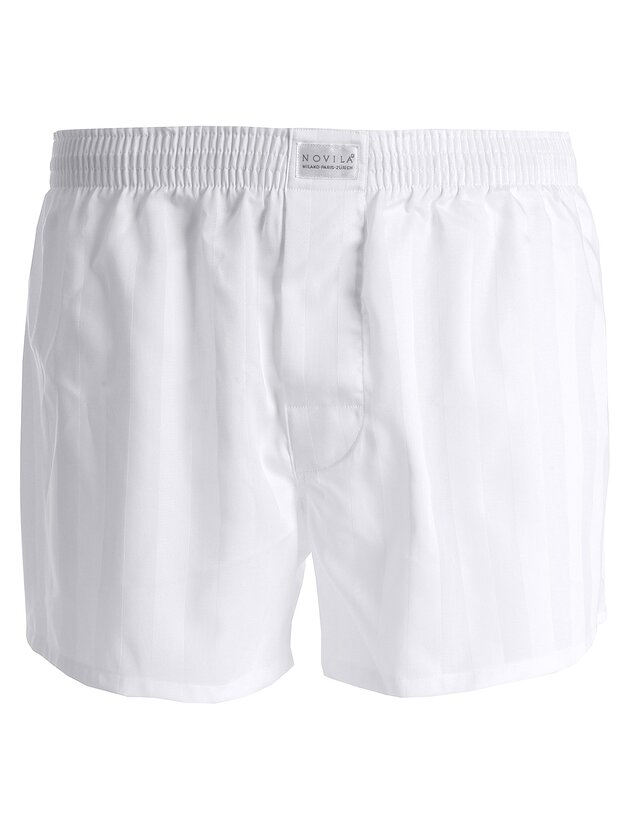 Boxershorts - Shorts - 1 weiss 48